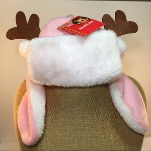 Other - Baby Girl Deer Hat Pink